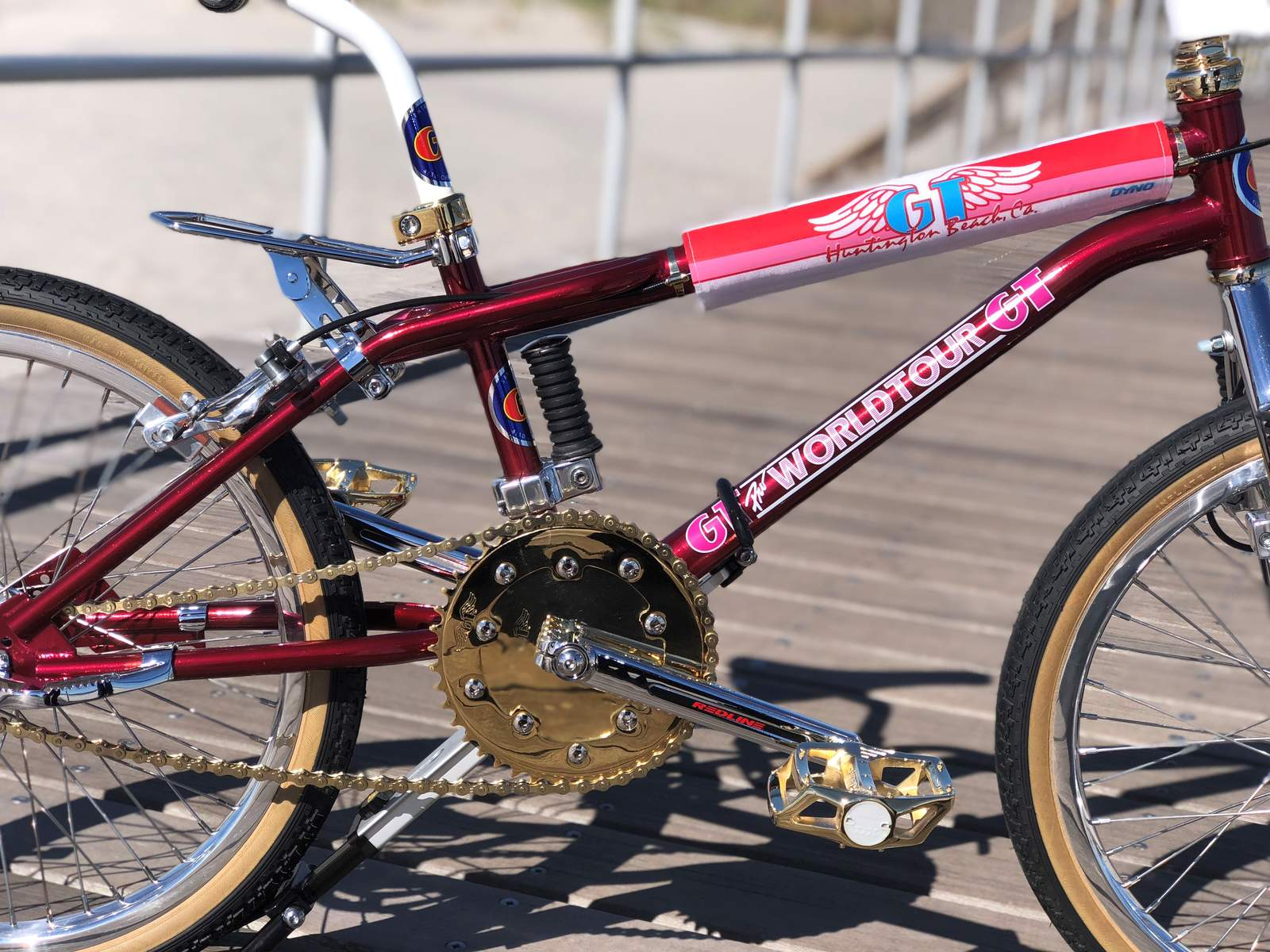 1987 GT Pro Performer Decal Old Stock Sticker BMX World Freestyle Tour 85 86 88
