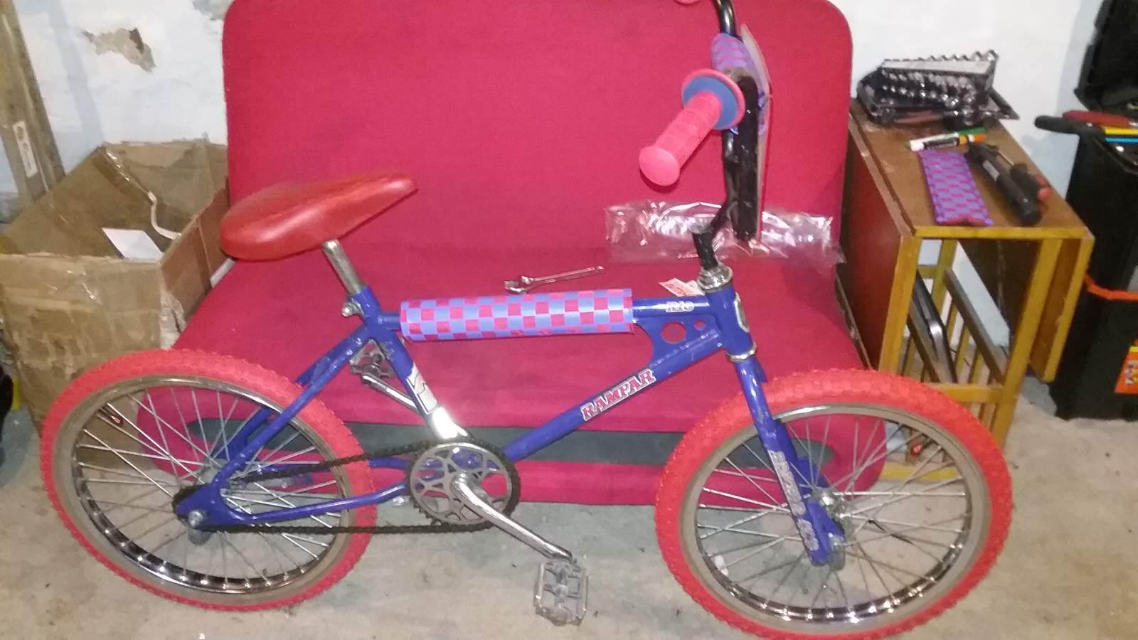 Been Wanting One for About 40 Years -- Red Tires - BMXmuseum.com Forums
