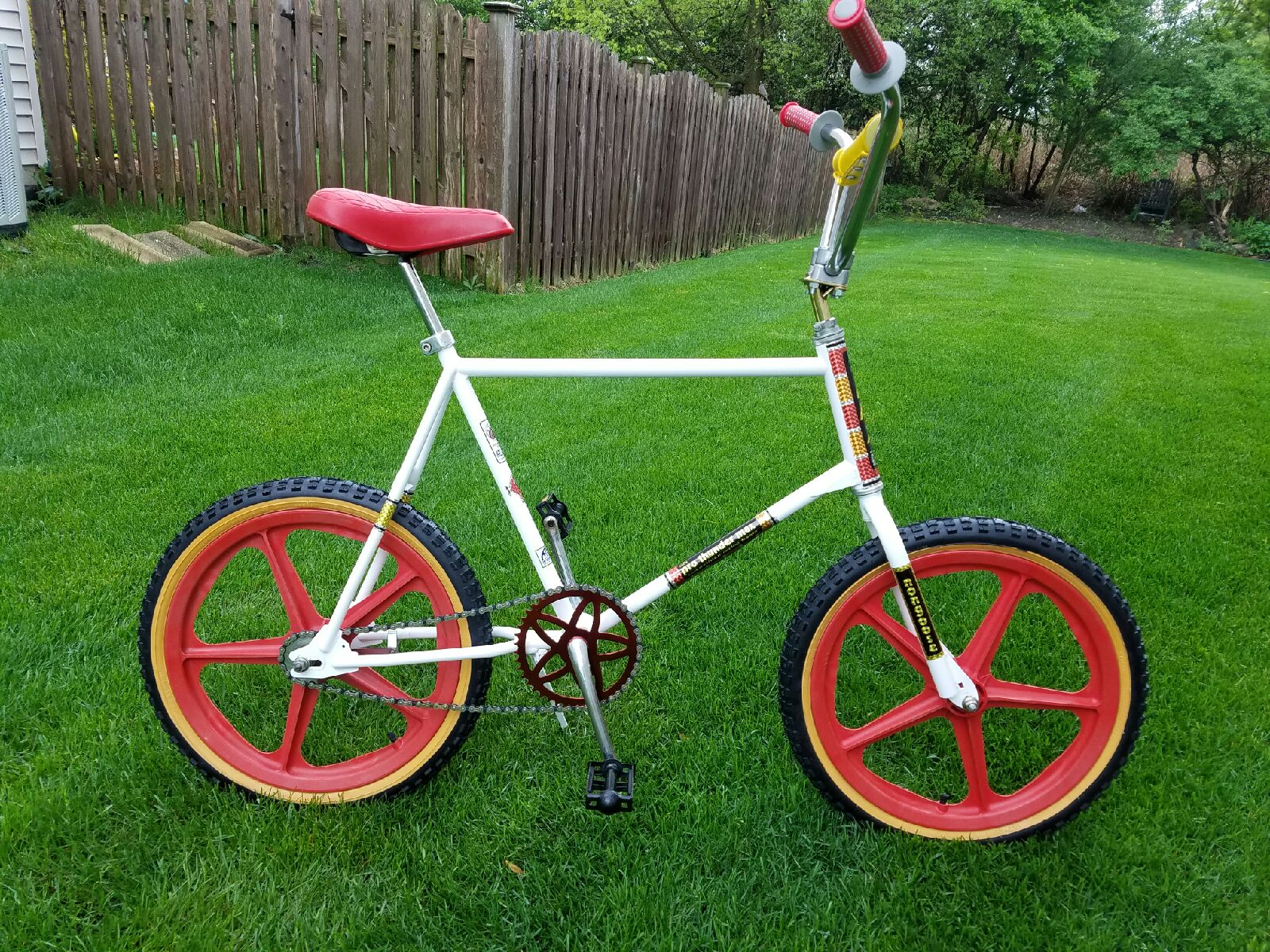 Huffy Pro Thunder Max Custom Moosegoose Style Restoration